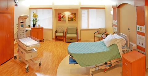 San Fernando Hospital. Room